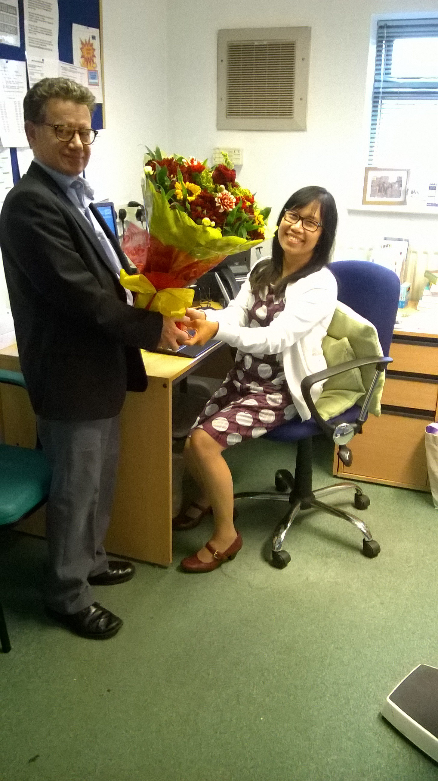 Dr Kay Htun..10 Years Service at New Pond Row